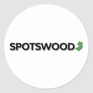Spotswood, New Jersey Pegatina Redonda