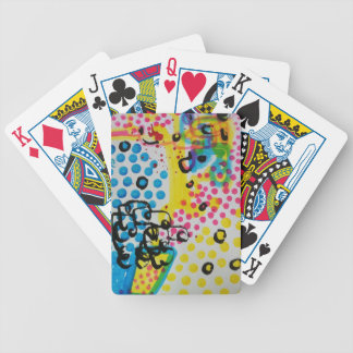 spotted abstraction by sludge card deck