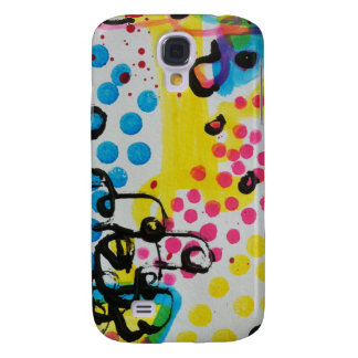 spotted abstraction by sludge samsung galaxy s4 cover