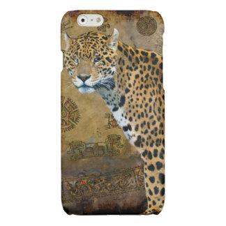 Spotted Aztec Jaguar Wildlife Big Cat Art Glossy iPhone 6 Case