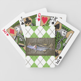 Spotted Bass Playing Cards