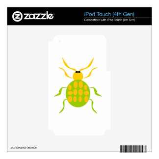 Spotted Beetle Decals For iPod Touch 4G
