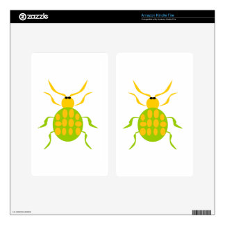 Spotted Beetle Kindle Fire Decals