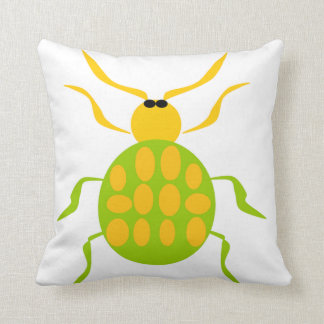Spotted Beetle Pillows