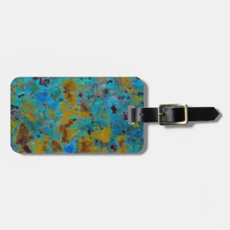 Spotted Blue Chrysocolla Jasper Bag Tag