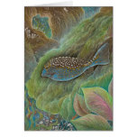 Spotted boxfish Greeting Card