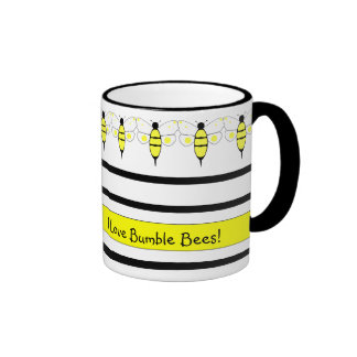 Spotted Bumble Bee Mug