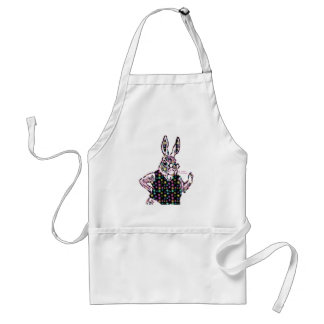 Spotted Bunny Adult Apron