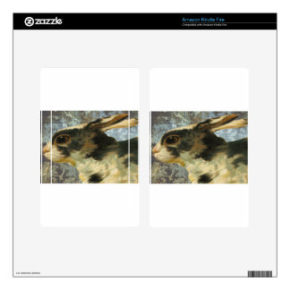 Spotted Bunny Rabbit Kindle Fire Skin