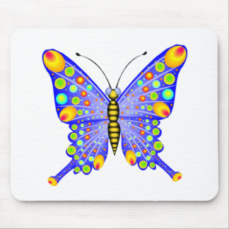 Spotted Butterfly 1 Mouse Pad