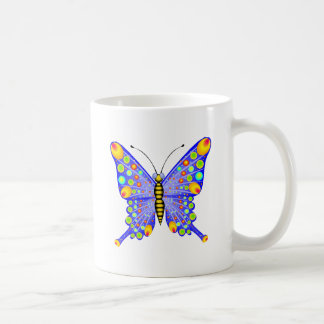 Spotted Butterfly 1 Classic White Coffee Mug
