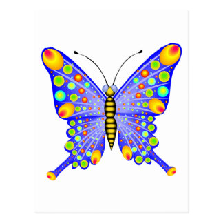 Spotted Butterfly 1 Postcard