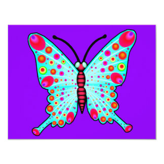 Spotted Butterfly 2 Card