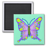 Spotted Butterfly 3 Magnets