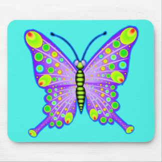 Spotted Butterfly 3 Mouse Pad