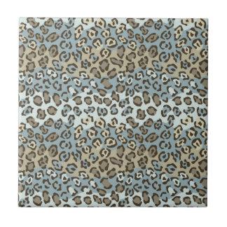 Spotted Cat Pattern Ceramic Tile