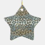 Spotted Cat Pattern Christmas Ornament