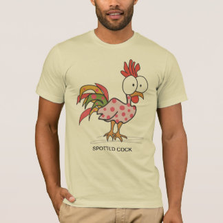 SPOTTED COCK - The Cock Shop T-Shirt