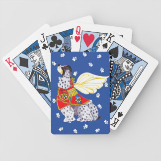 Spotted Cocker Spaniel Playing Card