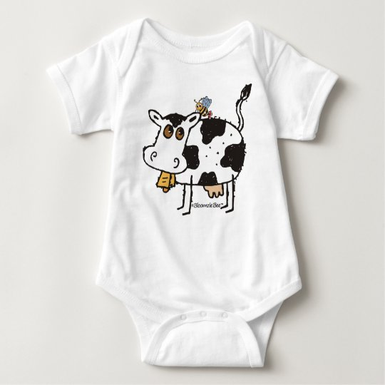 Spotted Cow Baby Bodysuit