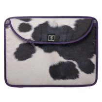 SPOTTED COW HIDE MacBook PRO SLEEVE