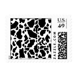 Spotted Cow Print, Cow pattern, Animal fur Stamp