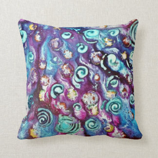 Spotted cushion throw pillows