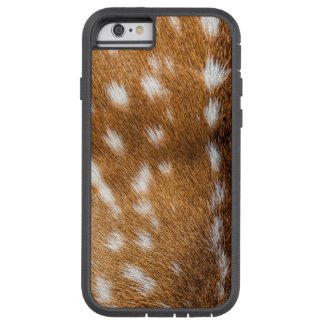 Spotted deer fur texture tough xtreme iPhone 6 case
