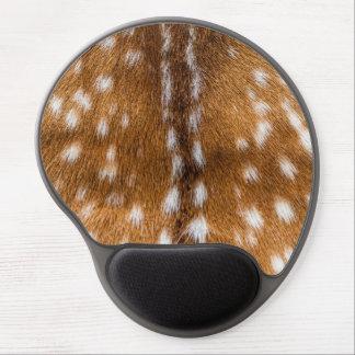 Spotted deer fur texture gel mouse pad