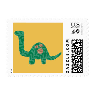 Spotted Dinosaur Stamps