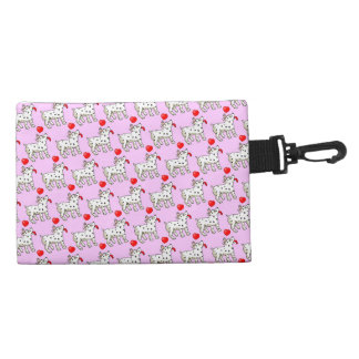 Spotted Dog Pattern - Clip On Accessory Bag