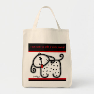 Spotted Dog Tote Bag