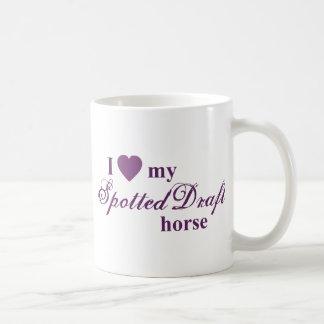 Spotted Draft horse Coffee Mug