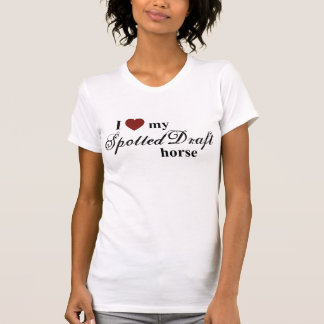Spotted Draft horse T-Shirt