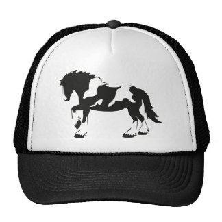Spotted Draft Horse Trucker Hat