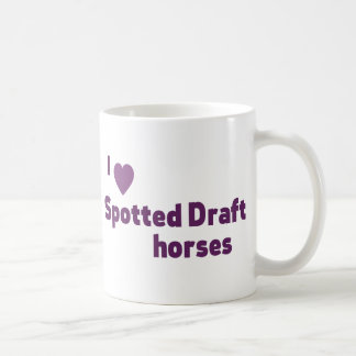 Spotted Draft horses Coffee Mug