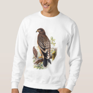 Spotted Eagle John Gould Birds of Great Britain Sweatshirt