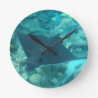 Spotted Eagle Ray Clock