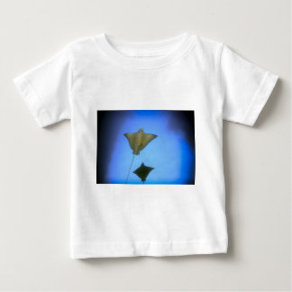 Spotted eagle rays underwater Galapagos Islands Baby T-Shirt