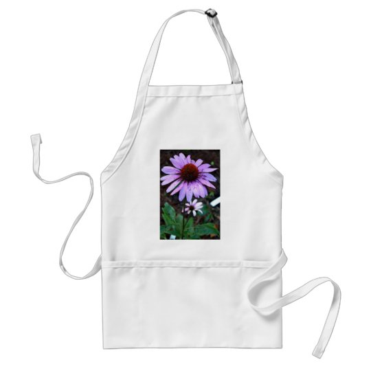 Spotted Echinacea Flower Adult Apron