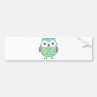 Spotted Executive Owl Bumper Sticker