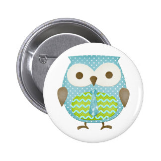 Spotted Executive Owl Buttons