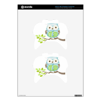 Spotted Executive Owl in Tree Xbox 360 Controller Decal