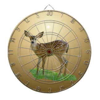 SPOTTED FAWN DART BOARD