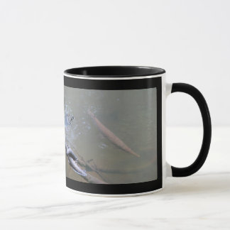 Spotted Gar and Red-eared Slider Mug