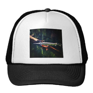 Spotted Gar Mesh Hat