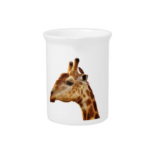 Spotted Giraffe Friends Beverage Pitchers