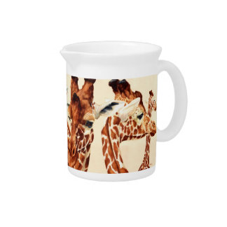 Spotted - Giraffes Drink Pitcher