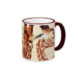 Spotted - Giraffes Ringer Mug