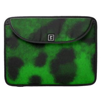 Spotted Green Leopard MacBook Pro Sleeve